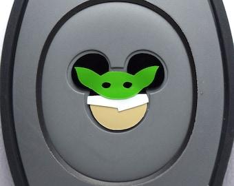 Baby Yoda MagicBand Decal | Grogu  Magic Band Decal | The Child Magic Band | MagicBand Baby Yoda Sticker | The Child MagicBand Decal
