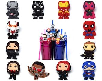 Avengers Straw Buddies | Ready to Ship!