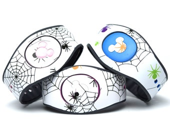 Halloween Spiderweb MagicBand 2.0 Skin