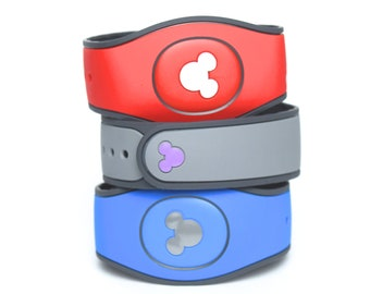Mickey Mouse MagicBand 2.0 Decals | Magic Band Decal | Disney World Trip Vinyl Sticker | Custom Colors | Wrist Decoration for WDW