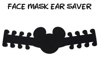 Mickey Mouse Face Mask Ear Saver | Ready to Ship!