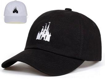 Disney Castle Embroidered Baseball Cap | Ready to Ship!