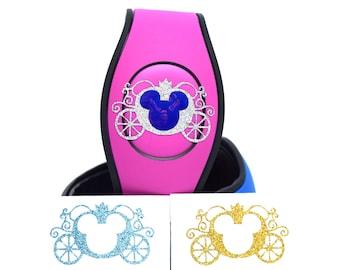 MagicBand Cinderella Coach Decal | MagicBand Carriage Decal | Cinderella's Coach Sticker | Cinderella's Carriage Sticker | MagicBand Decal