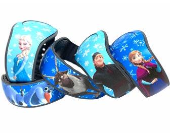 Frozen MagicBand 2.0 Skins | Elsa, Anna, Olaf, Sven, Kristoff Magic Band Decal | Disney Trip Vinyl Sticker | Fan Decoration for WDW