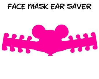 Mickey Balloon Face Mask Ear Saver | Ready to Ship!