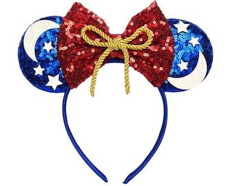 Sorcerer Mickey Minnie Ears | Fantasmic | Fantasia | Ready to Ship!
