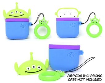 Little Green Alien AirPods Case Cover | AirPods & Charging Case NOT Included