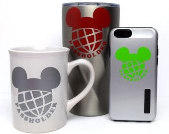 Disney World Annual Passholder Decal | Disney World Passholder Decal | Annual Passholder Sticker | Disney Passholder Decal | WDW AP Decal