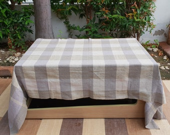Table Cloth, Authentic, cotton organic, handmade, for home accessory, for you or as a gift as Wedding table cloth or table runner.