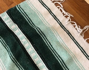 Vintage 1980's Mexican blanket