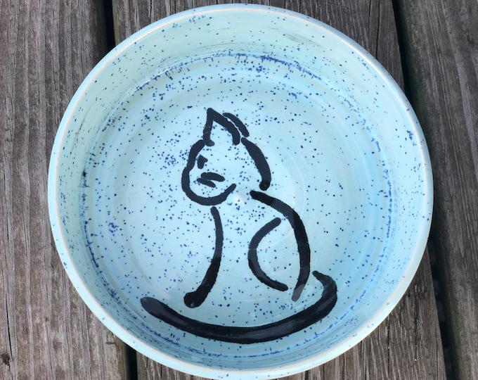 Personalized Stoneware Pet Dish - Free Shipping