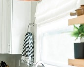 Turkish hand towel set of 2, Denarii Handtowels, The Guide, pom pom, housewarming gift, black and white, kitchen, bathroom