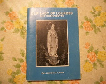 Our Lady of Lourdes and Bernadette Catholic booklet