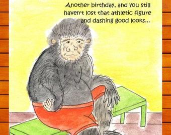 basketball birthday, funny sarcastic card