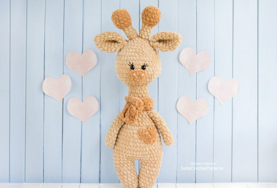 Hearty Giraffe amigurumi pattern | Amigurumi pattern, Crochet ... | 388x570
