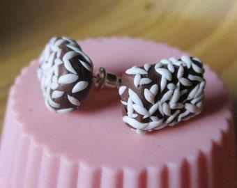 Lamington Stud earrings