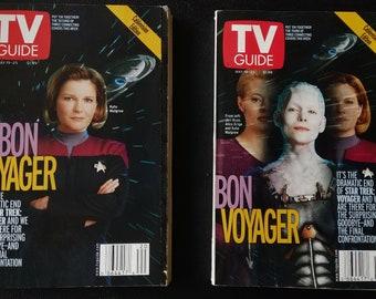 Star Trek Voyager Finale TV Guides