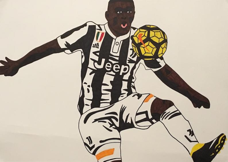 Pop A Disegno Douglas Art Mano A2 Juventus Costa l3T1FKcJ