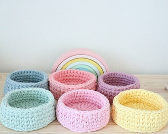 Super Chunky T Shirt Medium Stretch Necklaces Hoooked Zpagetti Yarn HEAVY PEACH Bracelets Home Decor