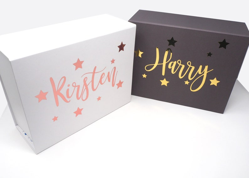 personalised present box