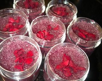 Organic Rose Petal  Scrub (SAMPLE SIZE 20 ML )