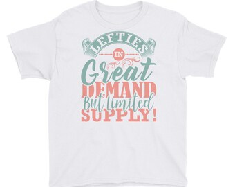 Lefties In Great Demand But Limited Supply Boy's T-Shirt