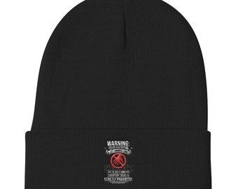 You are now entering a left-handed zone Knit Beanie