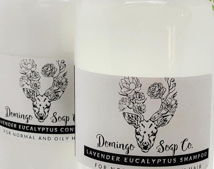 Lavender + Eucalyptus Hair Care Set