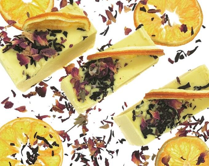 Citrus Hibiscus Castile Soap/Sustainable/Toxin Free/Natural/Organic/Zero Waste