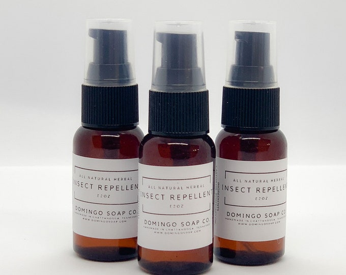 All Natural Herbal Insect Repellent