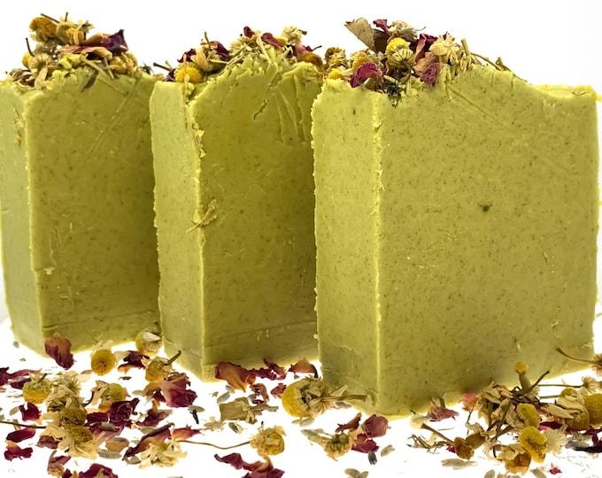 Rosemary Tea Tree Castile Soap/Vegan/Organic/Zero Waste