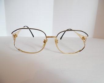 305891b3a121 Vintage Womens TURA Mod 621 EBO HGP Eyeglasses Used Frame