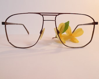 45bd99e200 Vintage MARCHON LEWIS Eyeglasses Used Frame Made in Japan
