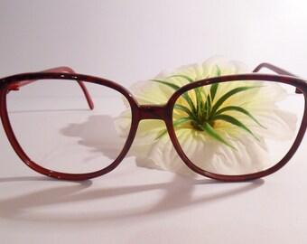 37c878842df8 Vintage MARCOLIN ALICE Marchon Eyeglasses Designer Used Frame made in Italy