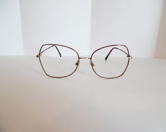ecba46beff7f Vintage Womens Tura Mod  2845 TOR Eyeglasses Designer Used Frame Made in  JAPAN