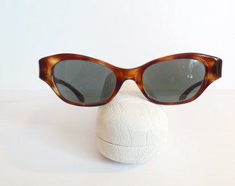 3c9e6026cf0f Vintage Womens Holiday-309 Art Craft USA Eyeglasses Designer Eyewear Used  Frame.