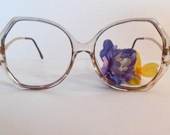 2ecf671829e Vintage Marcolin Stephani 517 AL Marchon Eyeglasses Designer Used Frame  made in Italy