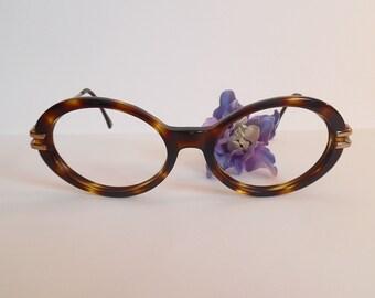 a511cd999bb Vintage ANNE KLEIN Eyeglasses Designer Used Frame Made in Italy