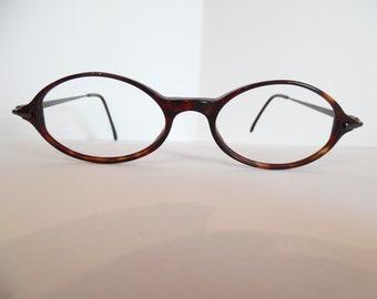 8123e3a30ba Vintage ANNE KLEIN 5006 K 5048 Eyeglasses Designer Used Frame Made in Italy