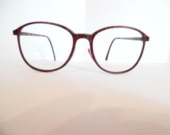 f304ff159f232 Vintage CARBON LIBERTI Eyeglasses Designer Used Frame Made in JAPAN