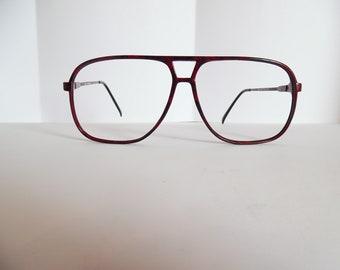 2d0ef13e19f4e Vintage Zimco Carbon C Eyeglasses Designer Used Frame