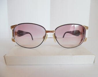 b51941f47634 Vintage Womens Sergio Tacchini Made in Italy.Eyeglasses with Gold Accent .