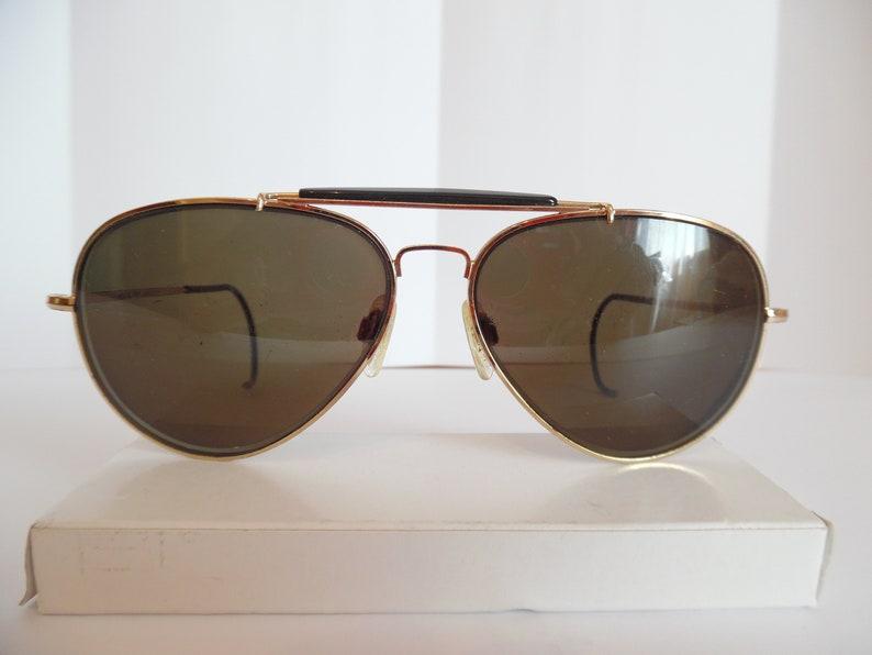 d675cb256d Vintage Oliver Winston Aviator Eyeglasses Gold Frame