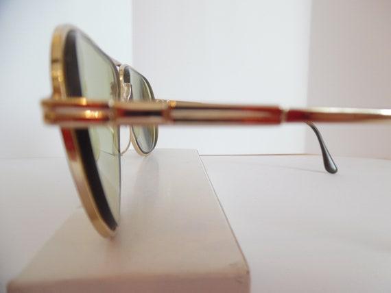 f0754f3c32 Vintage Swan USA 007 Aviator Eyeglasses Frame Prescription