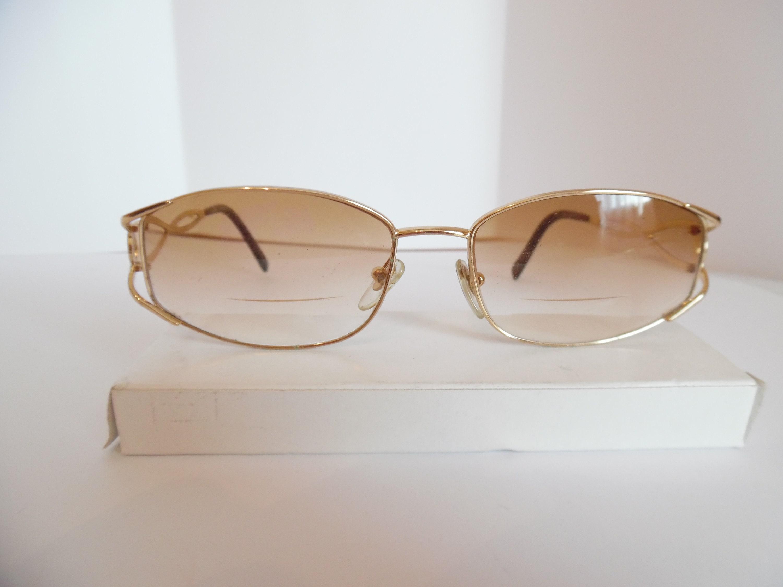 Weinlese-Frauen Salvatore Ferragamo Brillen verwendet Rahmen | Etsy