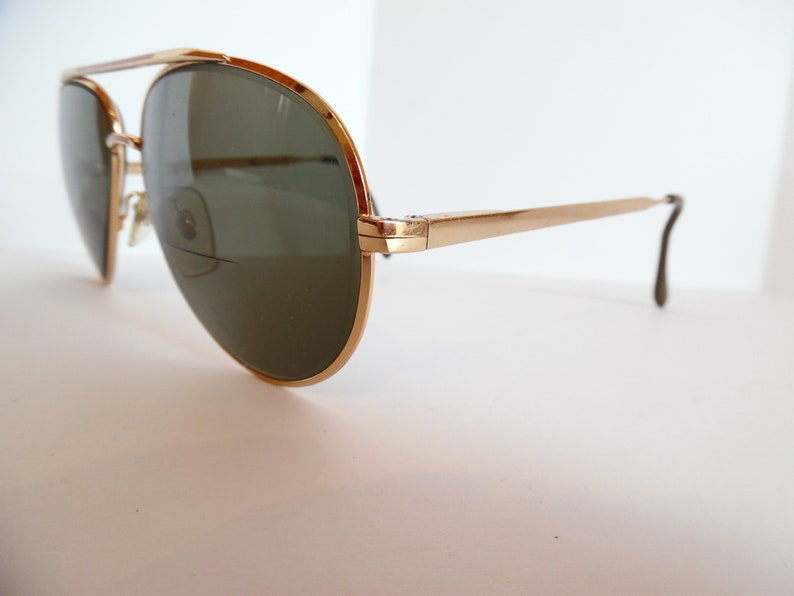 82f0d0321f COTTET Aviator Pilot Eyeglasses Designer Used Gold Frames Made