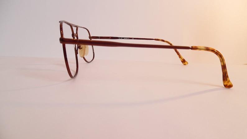 Vintage SILVER DOLLAR 145 PURE Titanium Tc 757 Eyeglasses Used Frame made in Hong Kong