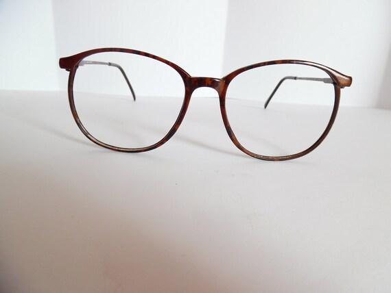 0a46b3f706 Vintage Marchon Eyeglasses Designer Used Frame Made in Japan
