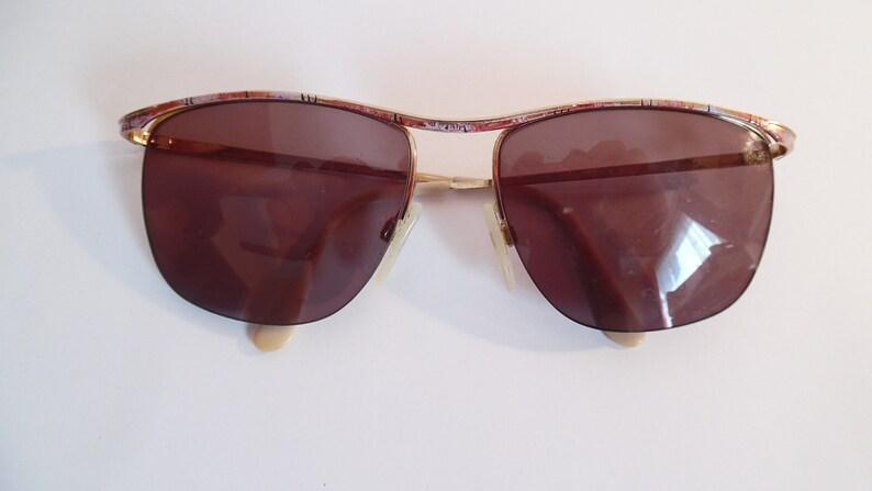 Vintage Rodenstock 833 Eyeglasses Gold Falled Used Frame