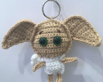 Handmade Dobby Crochet Keyring